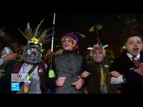 شاهد بُدناء فرنسا يتجمعون في مهرجان الرقص والأكل