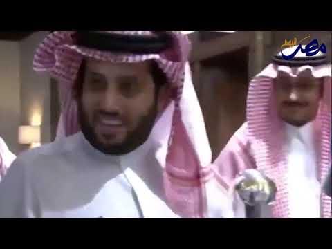 شاهد  تركي آل الشيخ يكشف سر عودته إلى نادي بيراميدز