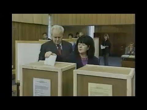 شاهد وفاة أرملة الزعيم الصربي السابق ميلوسوفيتش