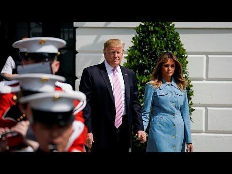 شاهد الرئيس الأميركي يزور بريطانيا وفرنسا الصيف المقبل