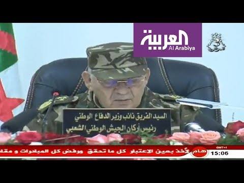 شاهد الجيش الجزائري يُحذر من العنف والفوضى