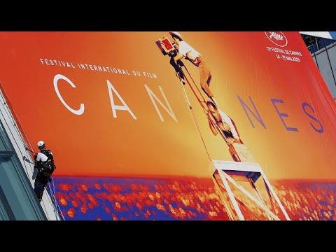 الملصق الدعائي للنسخة الـ72 من مهرجان كان السينمائي
