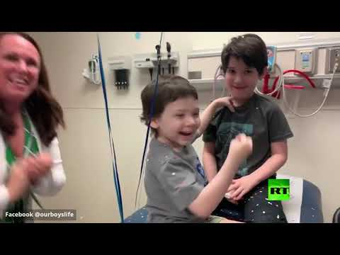 طفل عمره 5 سنوات يقهر المرض الخبيث