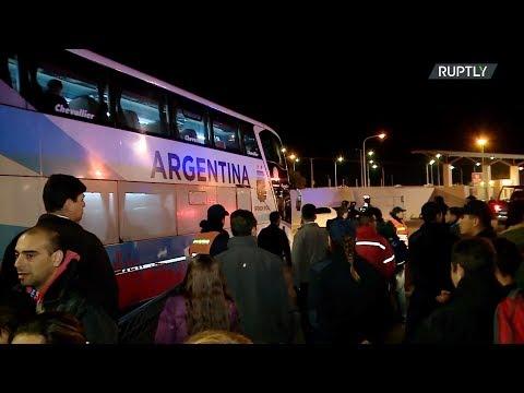 شاهد ميسي يُسجِّل ثنائية ويقود الأرجنتين إلى فوز كبير على نيكاراغوا