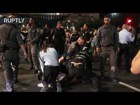 اشتباكات في تل أبيب بعد ألغاء مهرجان الترانس