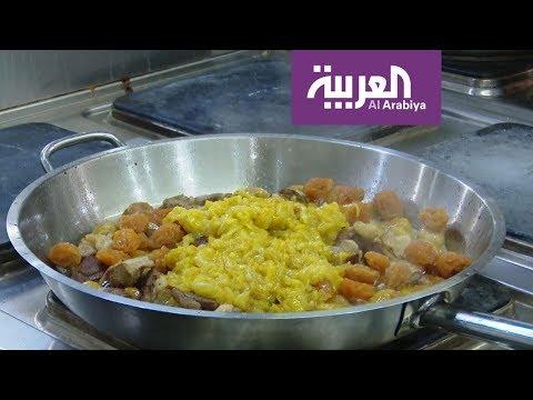 شاهد طريقة تحضير طبق البيلاف التقليدي من داخل المطبخ الأذري