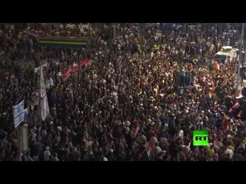 تظاهرات في بغداد ضد أداء الحكومة والبرلمان