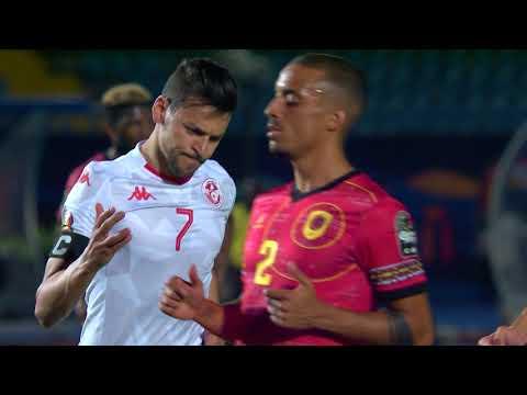 شاهد مُلخَّص وأهداف مباراة تونس وأنغولا