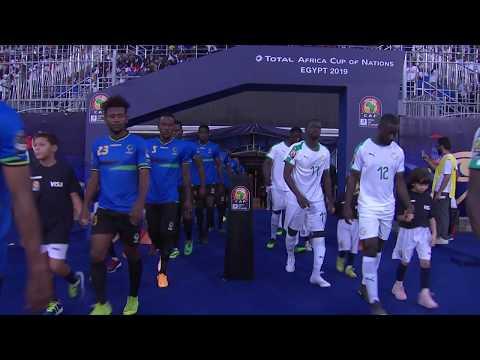 شاهد مُلخَّص وأهداف مباراة السنغال وتنزانيا
