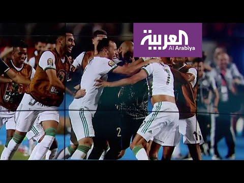 شاهد رياض محرز يُسجِّل هدفًا على تويتر بعد الفوز على نيجيريا
