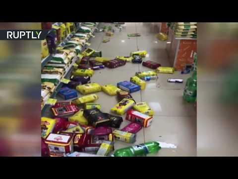 شاهد زلزال بقوة 6 درجات يضرب مدينة دنيزلي الواقعة في جنوب غرب تركيا