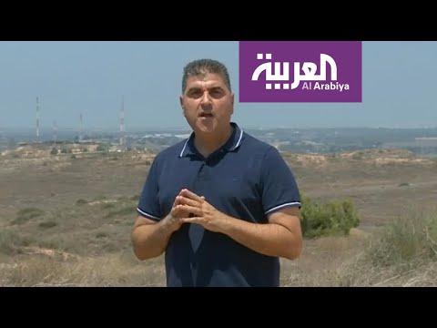 شاهد توتر الأوضاع عند حدود قطاع غزة مع قوات الاحتلال الإسرائيلية
