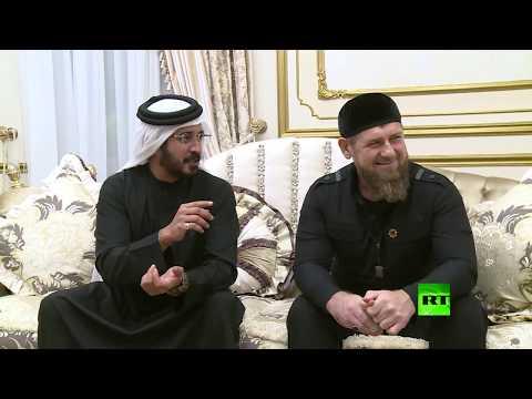 شاهد وفد من البحرين يصل الشيشان في زيارة ودية