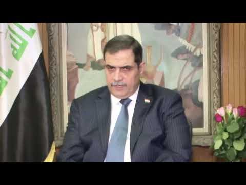 شاهد وزير الدفاع العراقي يقدم أدلة عن وجود طرف ثالث يطلق النار على المتظاهرين
