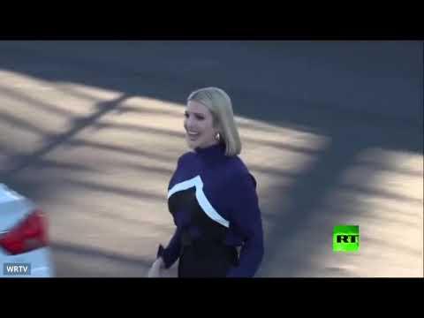 شاهد إيفانكا دونالد ترامب تُظهر مهاراتها في سباق السيارات