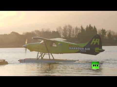 شاهد اختبار طائرة تعمل كليًّا بالطاقة الكهربائية للمرة الأولى