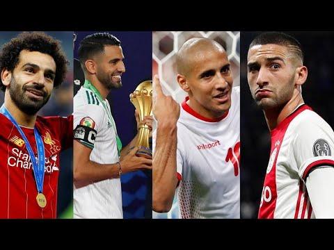 شاهد اثنا عشر لاعبا عربيا سطع نجمهم في 2019