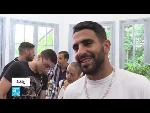 شاهد الجزائري رياض محرز يتوج بجائزة أفضل لاعب مغاربي