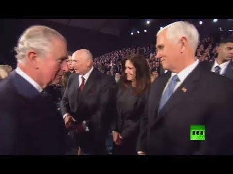 شاهد هل أحرج ولي عهد بريطانيا نائب الرئيس الأميركي في إسرائيل