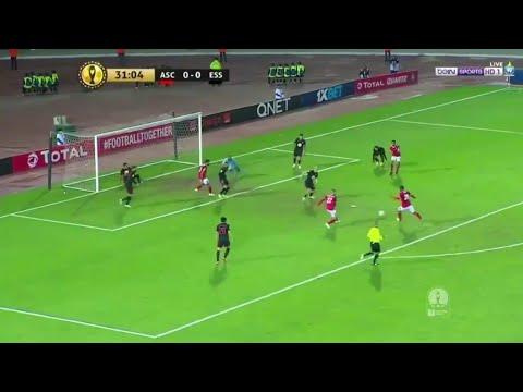 شاهد أهداف مباراة الأهلي والنجم الساحلي