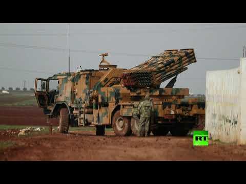 شاهد منظومات الصواريخ التركية تطلق النار