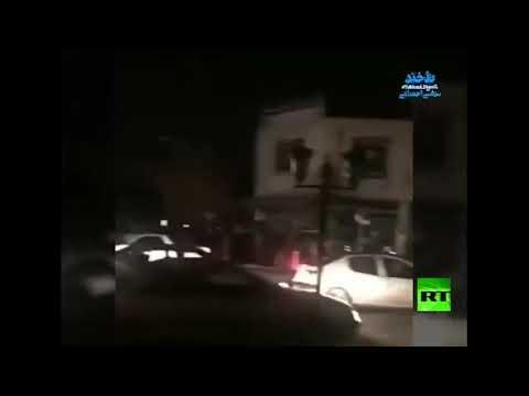 شاهد هزة أرضية في محافظة أذربيجان الغربية