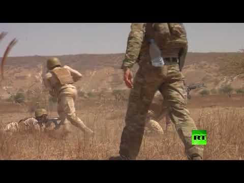 شاهد الولايات المتحدة تطلق مناورات عسكرية بمشاركة 34 دولة إفريقية