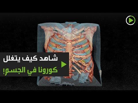 شاهد كيفية تأثير فيروس كورونا على الجسم بتقنية الواقع الافتراضي