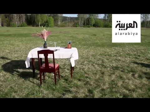 شاهد مطعم الـطاولة واحدة مشروع جديد في ريف السويد
