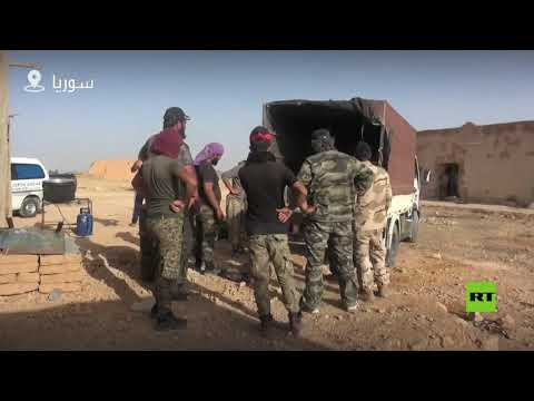 شاهد تعزيزات لمحاربة داعش في دير الزور
