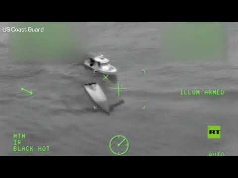 شاهد خفر السواحل الأميركي يُطارد مهربي المخدرات في المحيط الهادئ