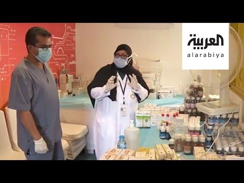 شاهد ستينية تشارك الفرق التطوعية تقديم الخدمات لسكّان مكة