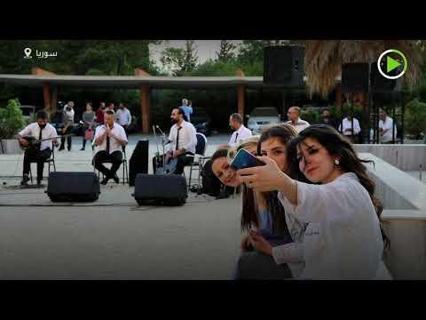 شاهد حفل موسيقي داخل مشفى دمشق