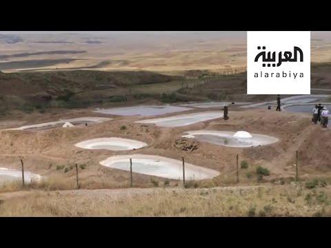 شاهد قرية في كردستان العراق تتخطى الأزمة الاقتصادية بالملح