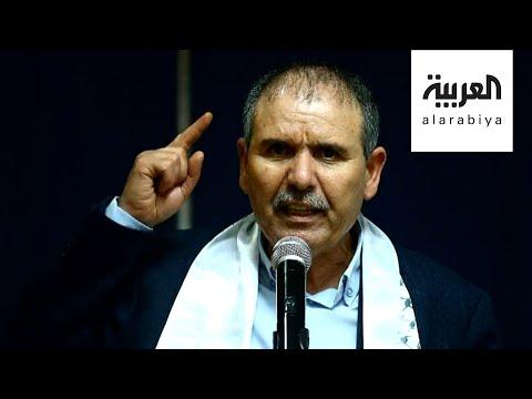 شاهد مناصرو النهضة التونسية يهدرون دم أمين اتحاد الشغل