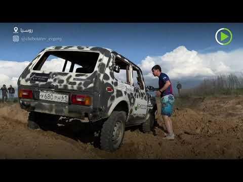 شاهد شاب روسي لا يخشى شيئًا يقوم بحركات خطيرة بالسيارات