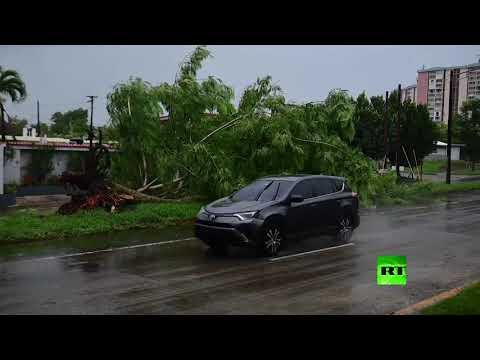 شاهد العاصفة إساياس تقطع الكهرباء عن نصف مليون شخص في الولايات المتحدة