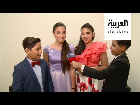 شاهد أبطال ذا فويس كيدز في دبي إلى جانب حسين الجسمي ويارا
