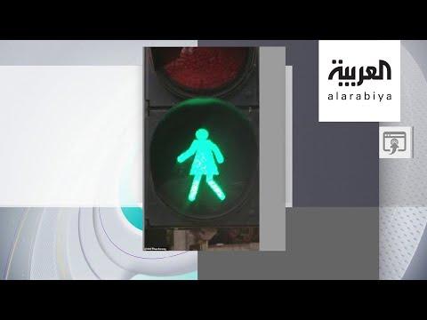 شاهد الهند تضع رسومًا نسائية على إشارات المرور لدعم المرأة