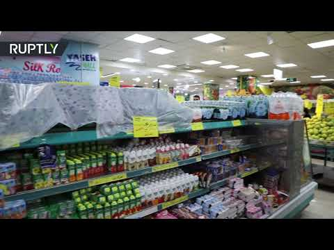 شاهد سحب المنتجات الفرنسية من المتاجر في الأردن
