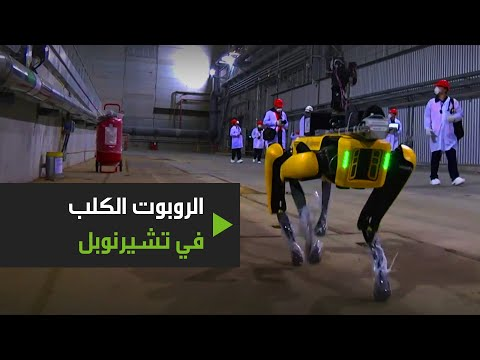 شاهد الكلب الروبوتي سبوت يعمل في تشيرنوبل للبحث عن الإشعاع النووي