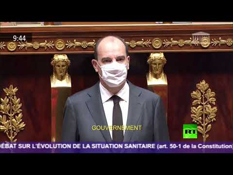 شاهد دقيقة صمت في البرلمان الفرنسي بعد حادث الطعن في نيس