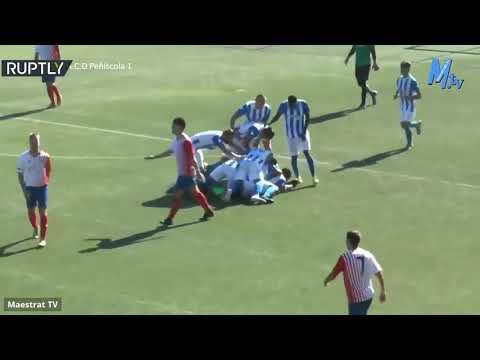 شاهد دراما حقيقة في مباراة كرة قدم بالدوري الإسباني بطلها حارس المرمى