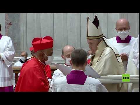 بابا الفاتيكان يُعين 13 كاردينالًا جديدًا من جميع قارات العالم