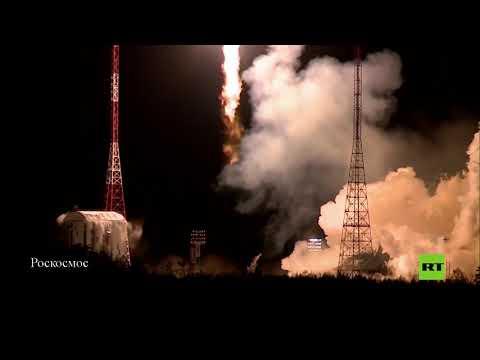 شاهد نجاح إطلاق صاروخ سويوز – 21 بي