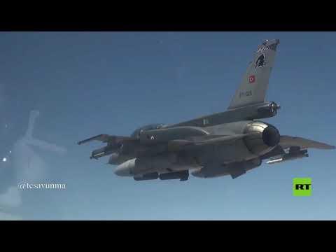 شاهد الدفاع التركية تنشر فيديو لقصف مواقع في العراق