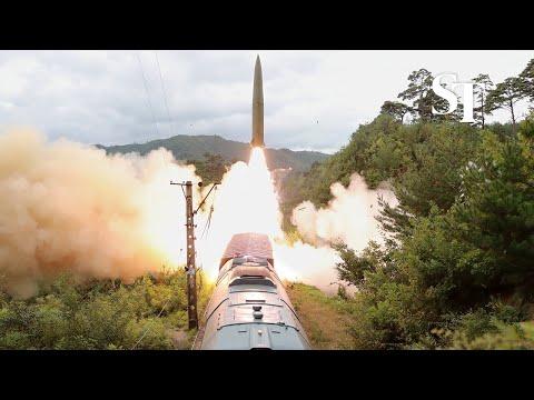 اختبار لنظام صاروخي جديد
